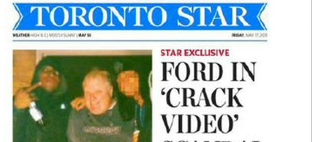 El alcalde de Toronto reconoce que fumó crack, pero no se plantea dimitir