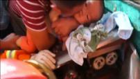 Un niño de dos años quedó atrapado en una picadora de carne en China