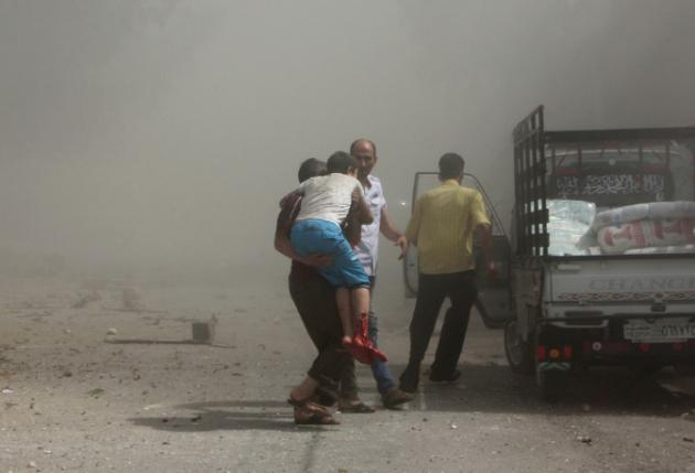 37 muertos al estrellarse un avión militar en Siria