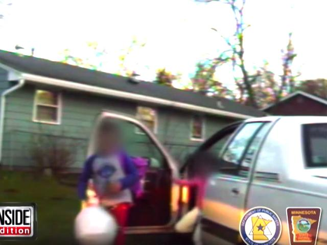 Tres niños escapan de casa en el auto de sus padres