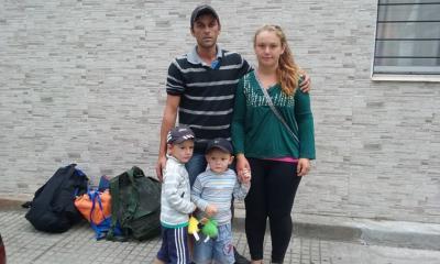 Se fueron de Minas a pie en busca de trabajo y una foto en Facebook cambió sus vidas