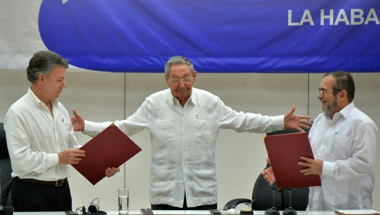 Paz en Colombia, un gol político para Cuba