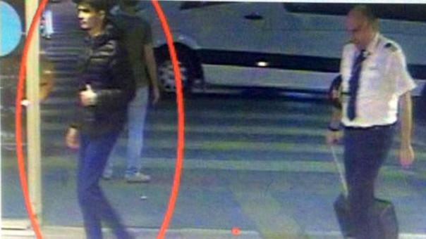 Aparece la primera foto de uno de los terroristas de Estambul