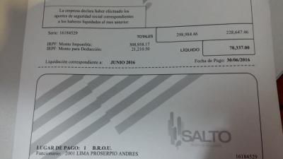 Intendente de Salto tiene de patrimonio una bicicleta que está pagando en cuotas