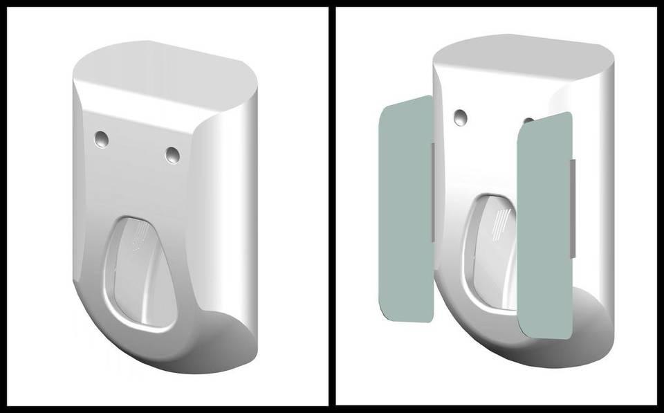 El nuevo urinario que lava y seca el pene en pocos segundos
