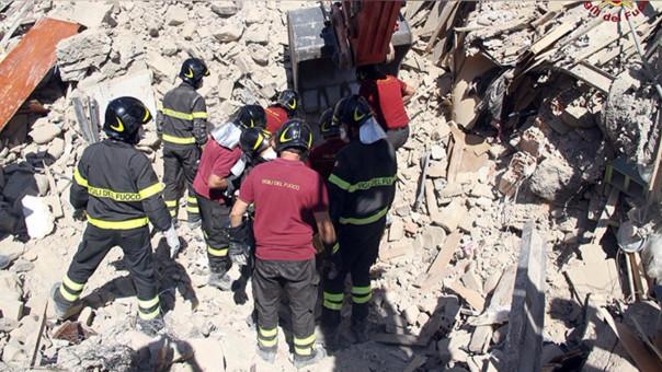 Niña sacrificó su vida al proteger con su cuerpo a su hermana en terremoto de Italia