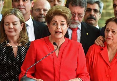 """Magnicidio político de Brasil: """"Condenaron una inocente y consumaron un golpe de Estado"""", dijo Dilma"""