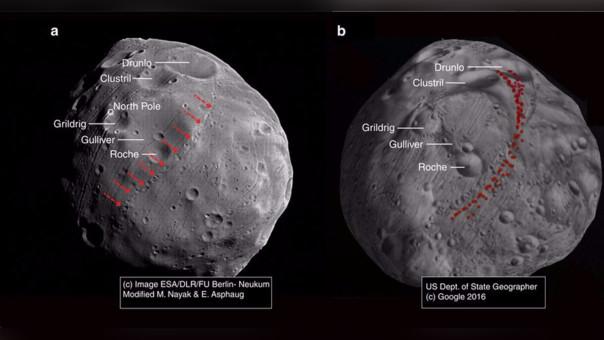 La maldición que persigue a Fobos, la luna de Marte