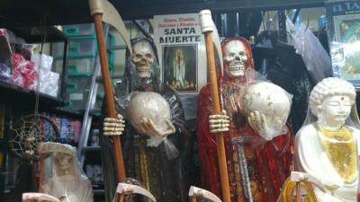 La Santa Muerte, un culto con millones de devotos en México