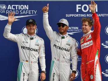 Hamilton consigue la 'pole' 56 de su carrera