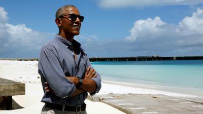 Nombran un pez en honor de Obama