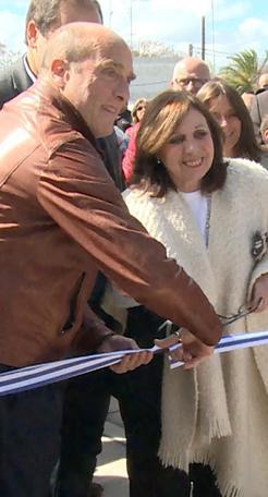 Inauguraron doble vía frente al Hipódromo de Maroñas; una obra social y vial de gran importancia