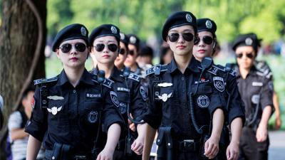 La bella guardaespaldas china que deslumbró en la Cumbre del G-20