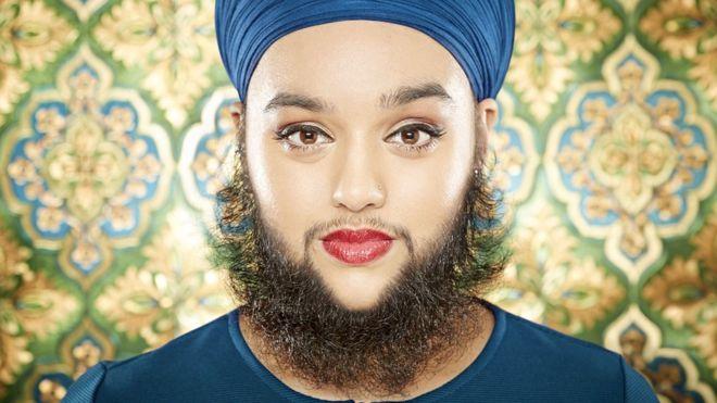 La mujer más joven del mundo con una barba completa según Guinness World Records