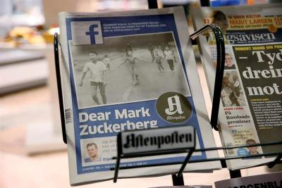 """Noruega ataca a Facebook por censurar foto de """"La niña del napalm"""""""