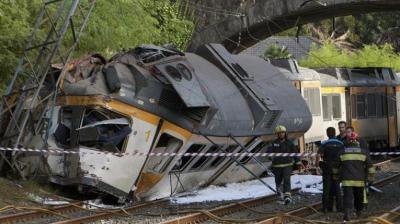 Dos uruguayos heridos en accidente de tren en España