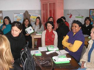 Los docentes de Secundaria reciben sus laptops