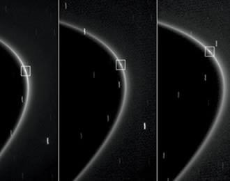 La nave Cassini descubrió una nueva luna de Saturno