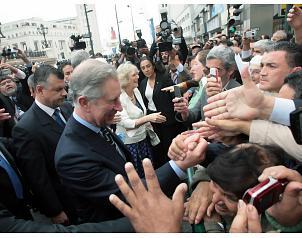El príncipe Carlos de Inglaterra está maravillado con Chile
