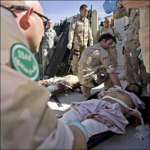 Un atentado suicida en Afganistán deja 11 muertos, nueve de ellos policías
