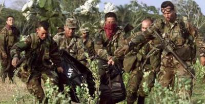 Colombia: 12 militares y siete guerrilleros muertos en menos de 24 horas