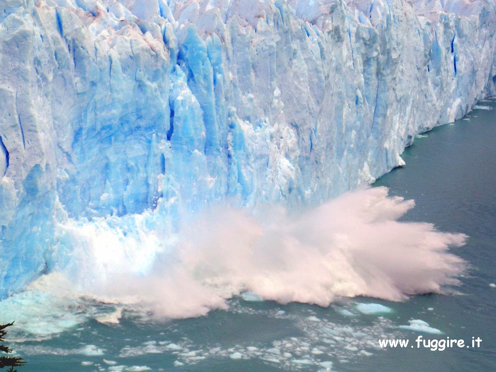 Chávez visitó imponente glaciar Perito Moreno en el sur de Argentina