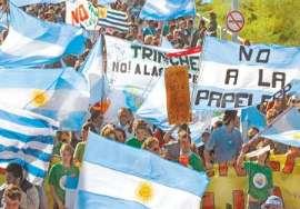 Entre Ríos reclamó por posible instalación de una nueva planta de celulosa en Uruguay