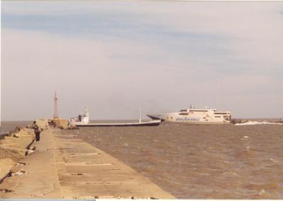 Montevideo: Cónsul español se tiró al agua con el auto