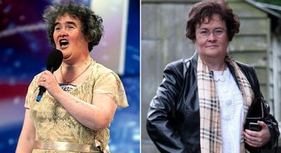 Internan en una clínica a la británica Susan Boyle