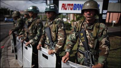 Honduras vive el golpe de Estado de noche