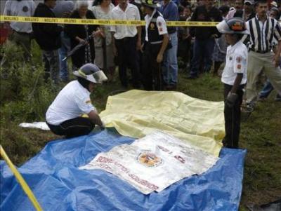 Mueren al menos siete personas en un accidente de carretera en Guatemala