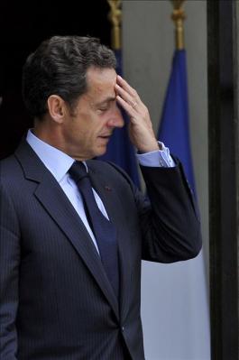 Sarkozy cae enfermo mientras hacía deporte