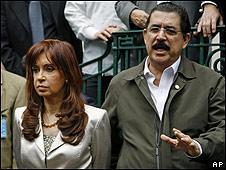 Argentina echa a embajadora de Honduras por apoyar golpe contra Zelaya