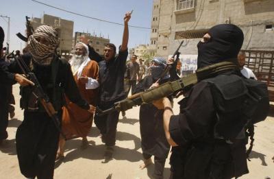 Horror en Gaza: 13 palestinos muertos y 100 heridos en enfrentamiento de Hamas y grupo salafista