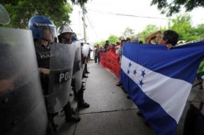 Los golpistas de Honduras se dieron el lujo de romper relaciones con Argentina