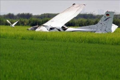 Sobreviven los dos ocupantes de una avioneta siniestrada en Nueva Jersey