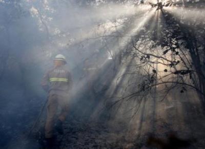 Incendios devastadores también en Portugal