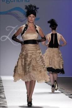 La moda argentina debutó en la pasarela neoyorquina
