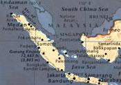 15 desaparecidos tras hundimiento de bote en Indonesia