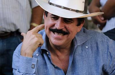 Zelaya: 'Si me reponen en el cargo, habrá elecciones'