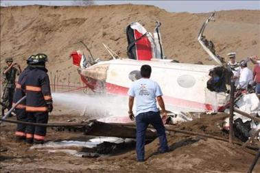 Fallecen dos hombres en un accidente de avioneta en Bolivia
