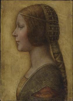 Una huella delata a Da Vinci
