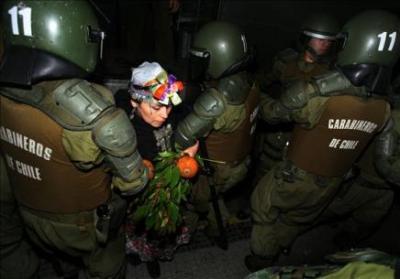 Chile: Denuncia criminal contra Carabineros por maltratos a niños mapuches
