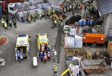 Tres muertos, un desaparecido, un atrapado y 6 heridos al hundirse túnel en Andorra