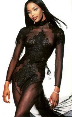 Naomi Campbell, la diosa de ébano, en busca de un fotógrafo y un modelo