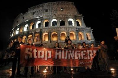 Roma: La cumbre de la FAO pretende reducir a la mitad el hambre en el mundo