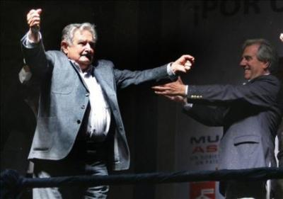 Lluvia de felicitaciones a Mujica