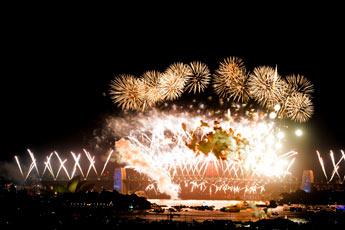 112.850 habitantes del mundo ya festejaron la llegada de 2010