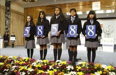 España: Casi todo el gordo del Niño es embolsado por el Tesoro Público