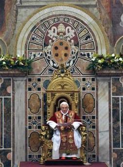 El Papa dice que el matrimonio gay amenaza a la creación